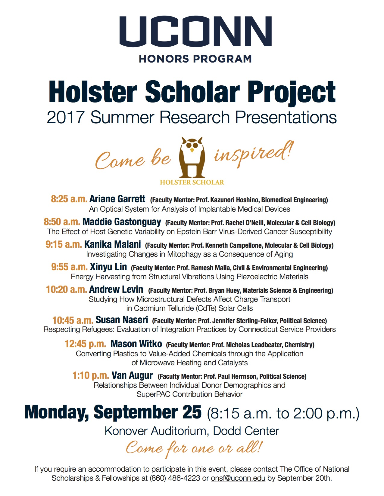 Holster 2017 Poster