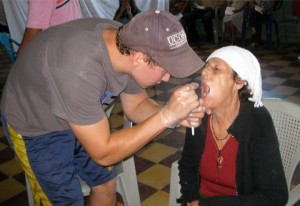 Patrick Cooper travels to Honduras to help with dental work.