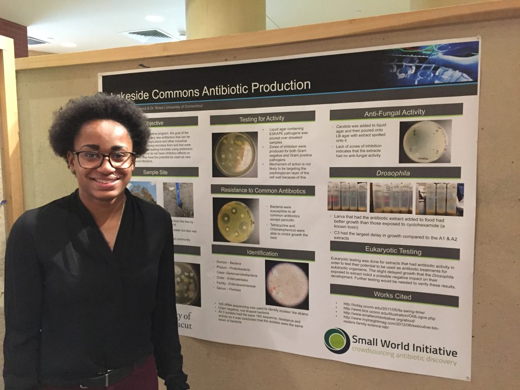 Jiana Baker, Lakeside Commons Antibiotic Production, at the Small World Initiative